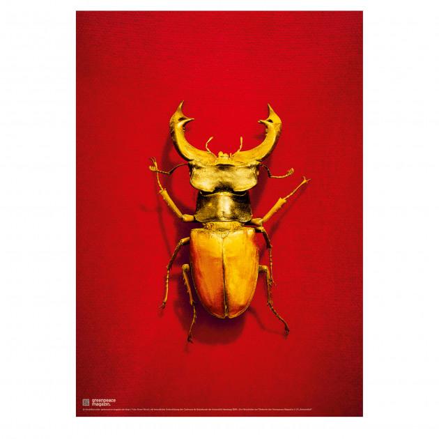 "Poster ""Artenvielfalt"" rot"