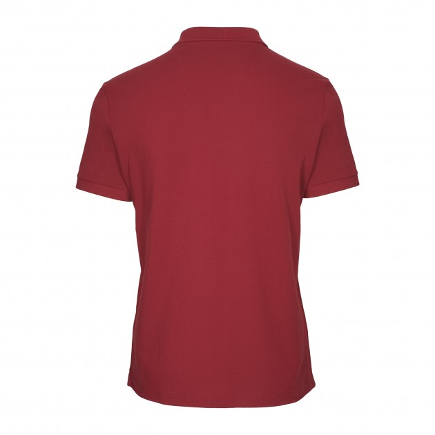Herren-Polo Kurzarm biking red