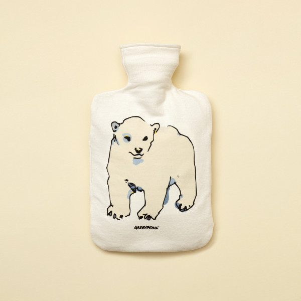 """Wärmflaschenbezug """"Eisbär"""""""