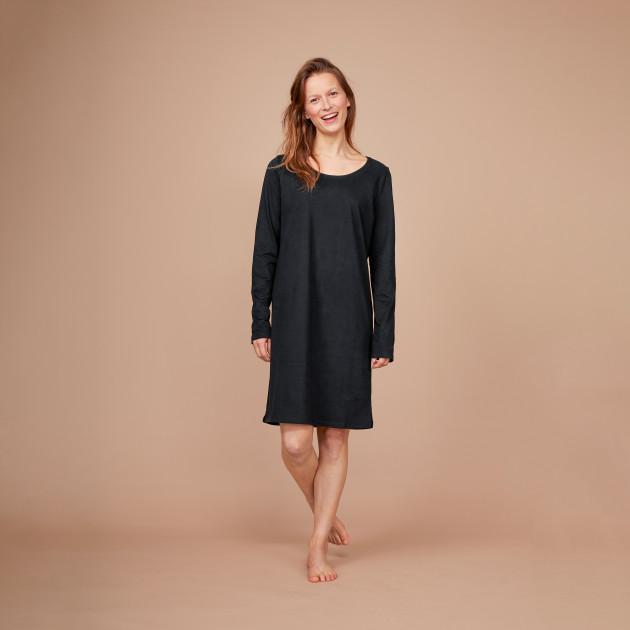 Damen Nachthemd schwarz