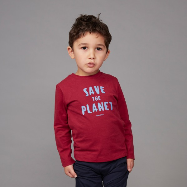 "Kids Pyjama lang ""Save the Planet"""