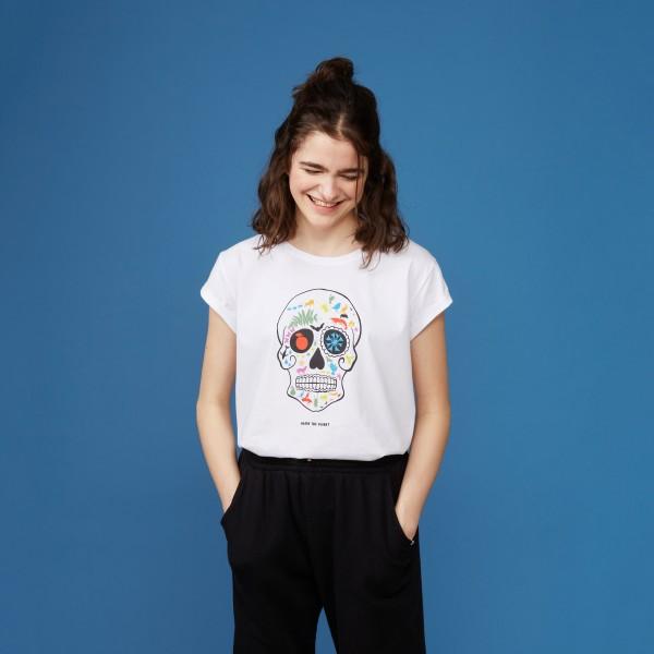 """T-Shirt """"Artenvielfalt rockt"""""""