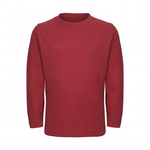 Kids Langarm Shirt biking red