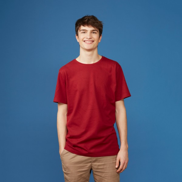 Basic T-Shirt Kurzarm biking red
