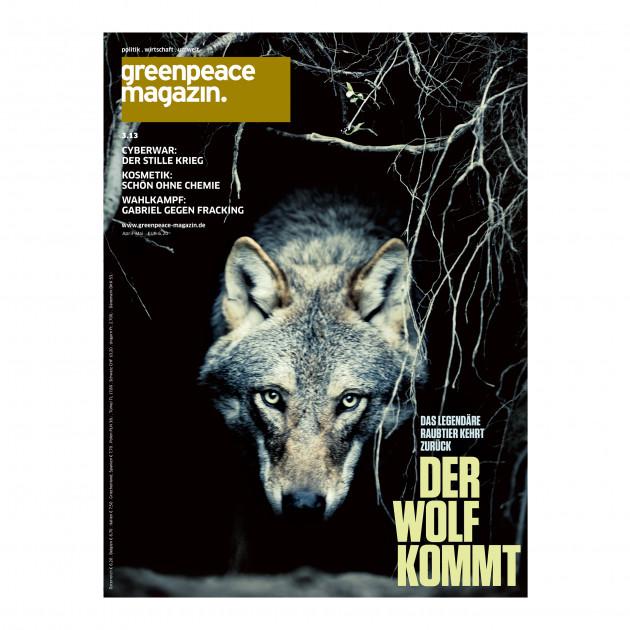 3.13 Der Wolf kommt