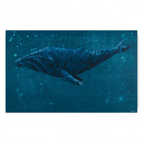 "Kunstdruck ""Humanimal - Der Wal"""