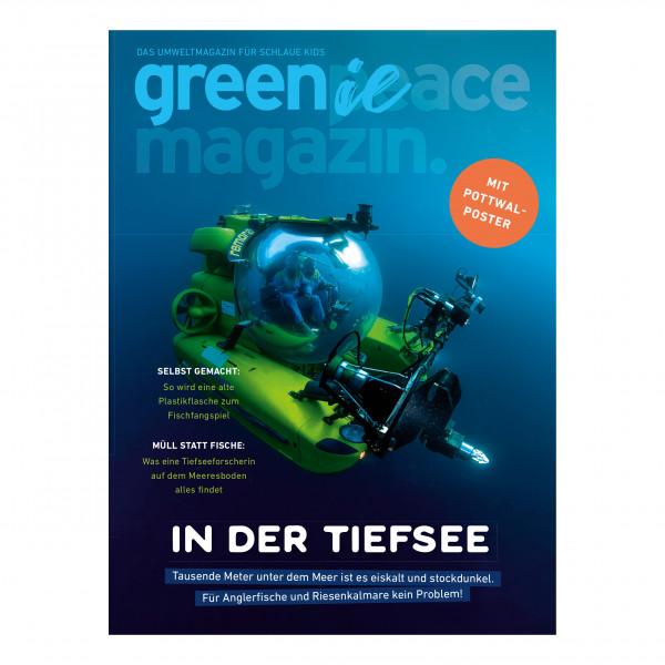 Greenie 1.21 – Das kleine Umweltmagazin für schlaue Kids