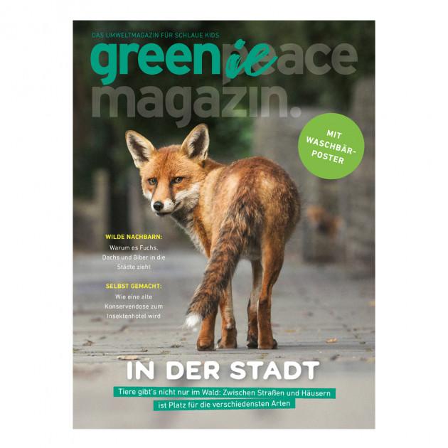 Greenie 3.21 – Das kleine Umweltmagazin für schlaue Kids