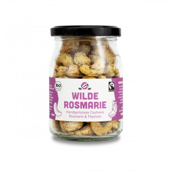Bio-Cashewkerne geröstet mit Rosmarin und Thymian 133g