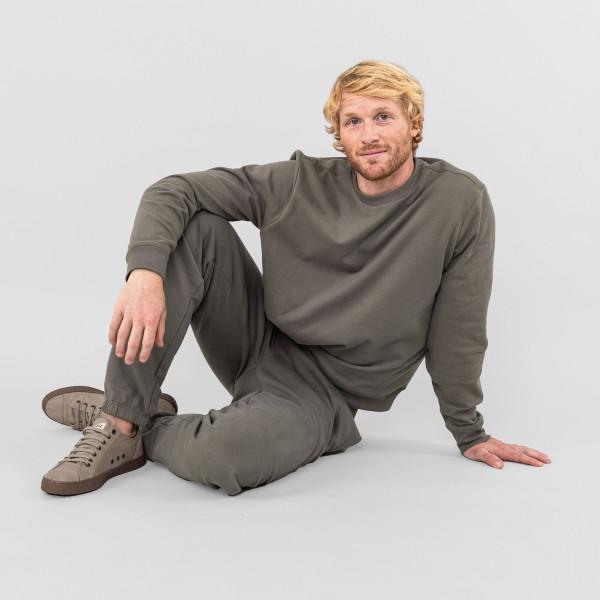 Basic Sweatshirt khakibraun