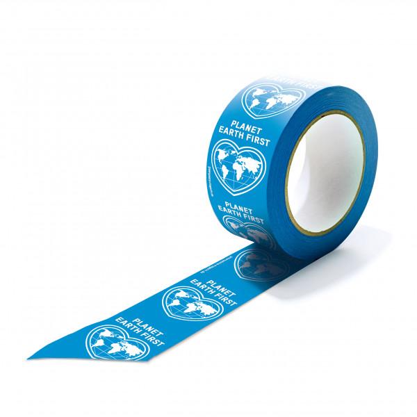 """Papierklebeband """"Planet Earth First"""" weiße Schrift"""