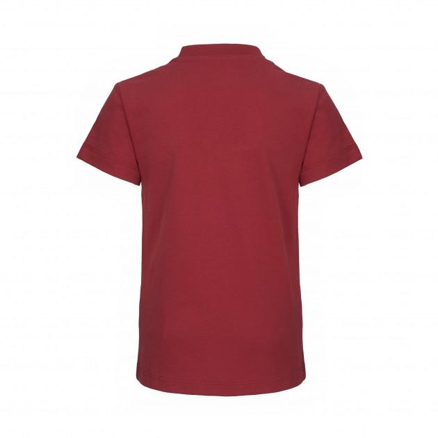 "Kids T-Shirt ""Stop Climate Change"" biking red"
