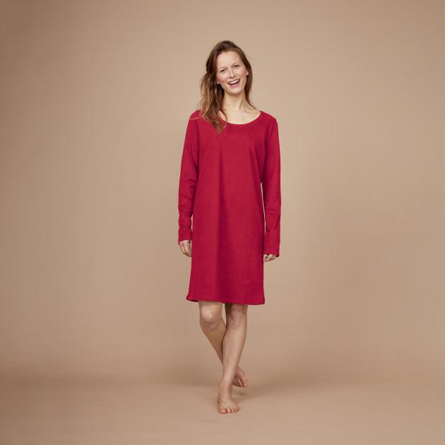Damen Nachthemd biking red