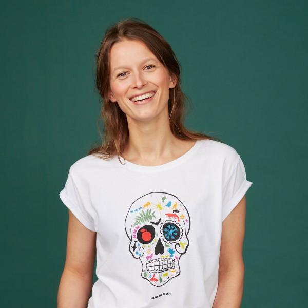 """Damen T-Shirt """"Artenvielfalt rockt"""""""