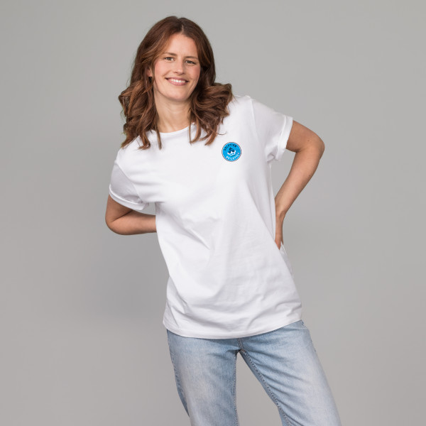 "T-Shirt ""Solution-Pollution"" weiß"