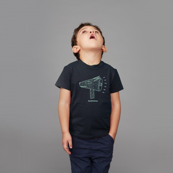 "Kids T-Shirt ""Save the Climate"" nachtblau"