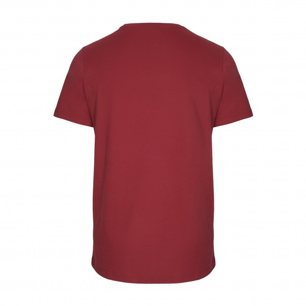 Herren Basic T-Shirt Kurzarm biking red