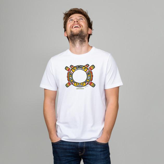 """Jubiläums T-Shirt """"Sisiutl Crest"""" weiß"""