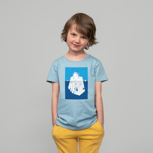 """Jubiläums Kids Shirt """"Arctic"""" himmelblau"""