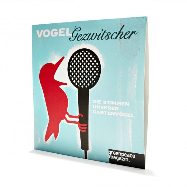 """CD """"Vogelgezwitscher"""""""