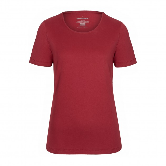 Damen T-Shirt Kurzarm biking red