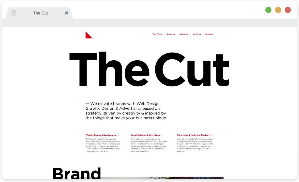 The Cut Creative