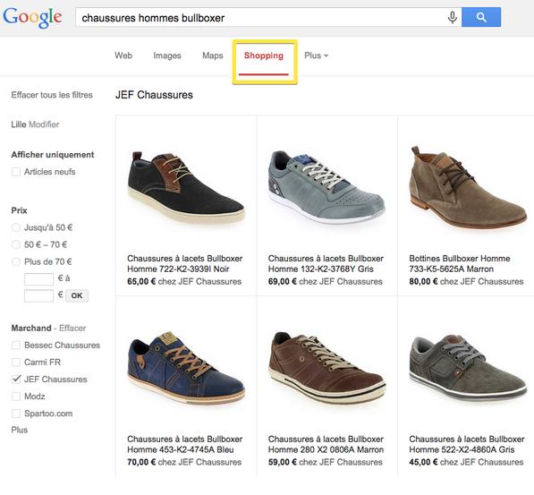 La promotion de produits sur Google Shopping