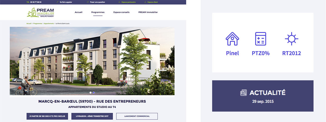 PREAM Immobilier