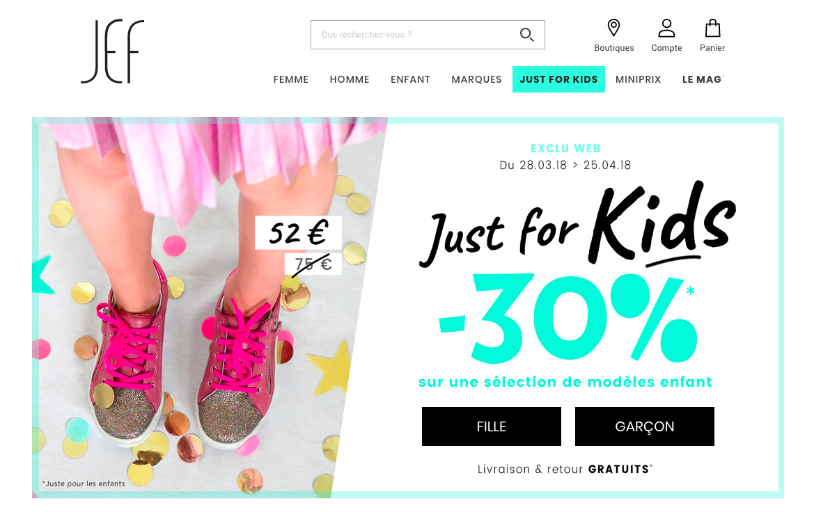 Site Jef Chaussures