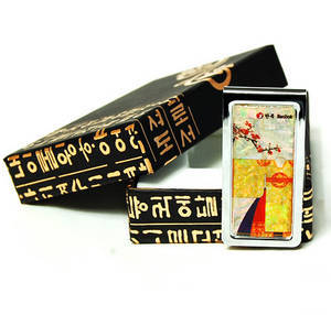 Money clip, paper clip, mother of pearl gift. Queen's gown