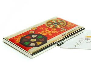Designer business card holder, credit cardholder, mother of pearl gift, tray
