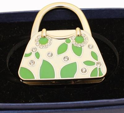 Handbag holder, handbag shape Green
