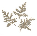 Pressed leaves, silver lace 20pcs floral art craft card making scrapbooking