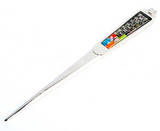 Paper knife, mother of pearl office gift, oriental characters