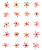 Pressed flowers, garlic chive light pink floral art resin craft jewellery making