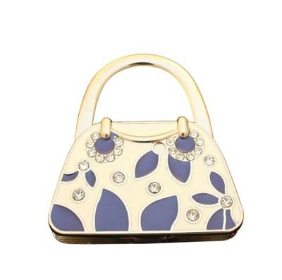 Handbag holder, handbag shape Blue