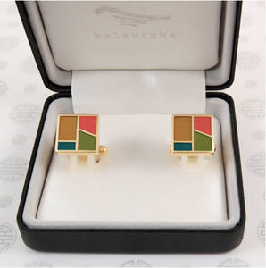 Cufflinks, handmade gift, colors