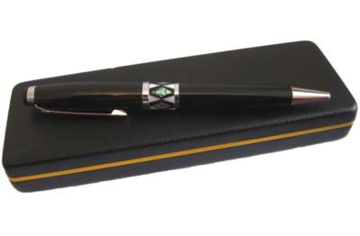 Ball point pen, handmade mother of pearl gift, black