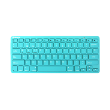 Silver HT Teclado Wireless Colors edition Turquesa