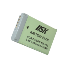Battery photo DSK NB-13L Canon 1250mAh | Silver Sanz