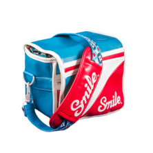SMILE CAMERA BAG size S - MOD | Silver Sanz