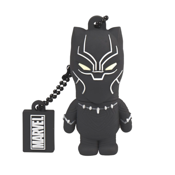 Memoria USB 32GB - Black Panther | Silver Sanz
