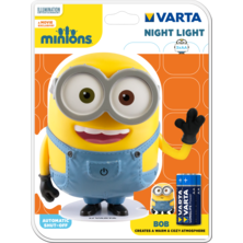 VARTA Minions Night Lamp 3AA included | Silver Sanz