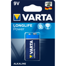 Varta Pila 6LR61 / 6LP3146 Long Life Power Alcalina 9V