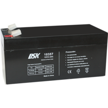 Lead Battery DSK 12v.3,3Ah | Silver Sanz