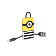 Llavero USB Lightning Jail Time Minion | Silver Sanz