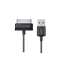 Cable USB Charge&Sync - GALAXY (30pin) - BASIC - 1,5m negro | Silver Sanz