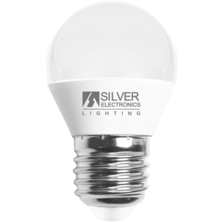 Silver Electronics Spherical LED Bulb 6W E27 2700K