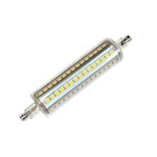 LED Linear Dimmable 118mm 9W 5000K 360º | Silver Sanz