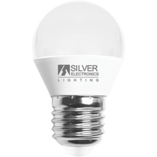 Silver Electronics Spherical LED Bulb 6W E27 5000K